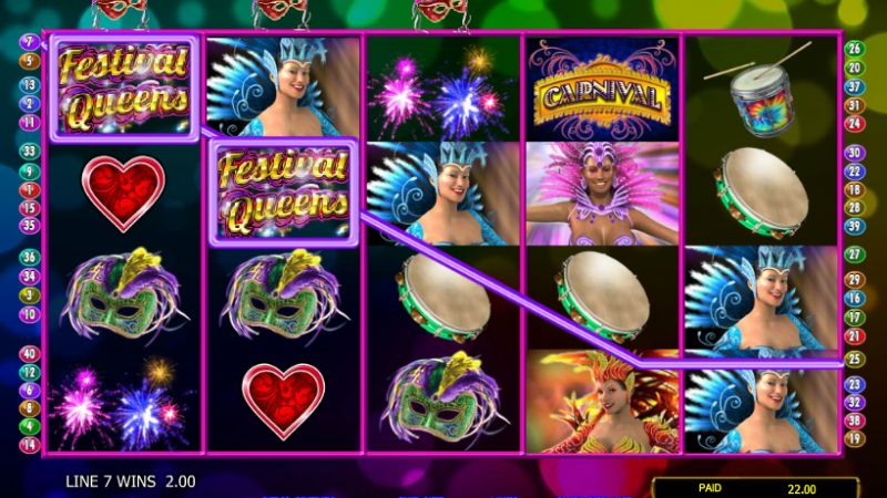 Festival Queens Online Slots Reviews