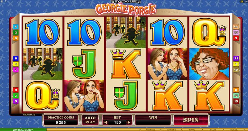Rhyming Reels: Georgie Porgie Online Slot Overview