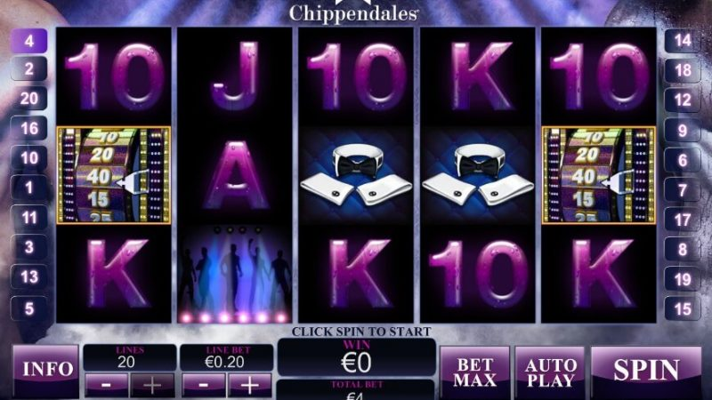 Chippendales Slot Machine Reviews