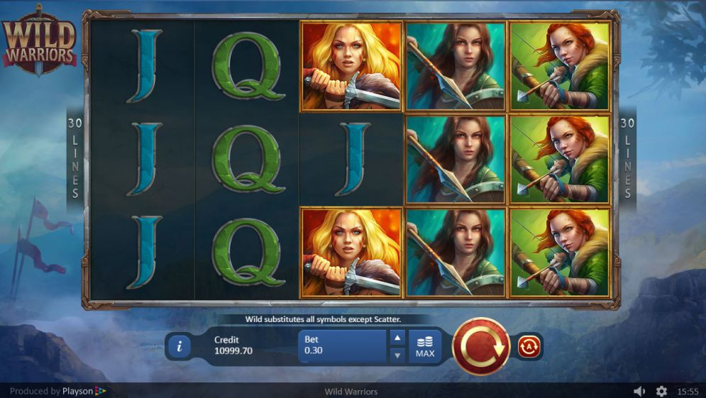 The Warriors Online Slots Review